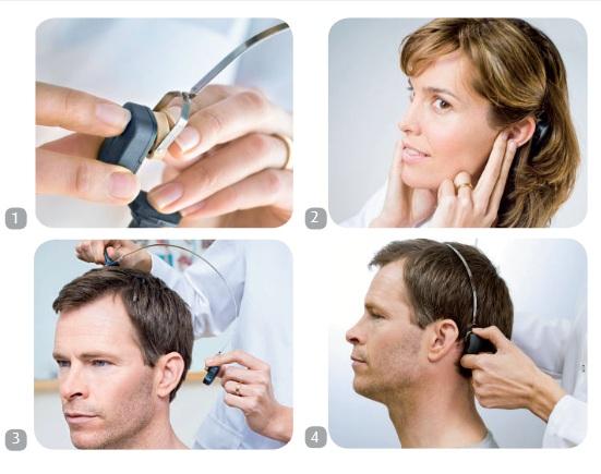 Na tests in het ziekenhuis start een proefperiode met een hoofdband.