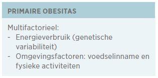 primaire obesitas